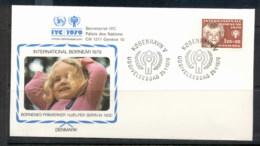 Denmark 1979 IYC International Year Of The Child FDC - Denmark