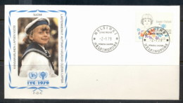 Finland 1979 IYC International Year Of The Child FDC - Finland