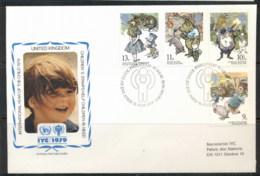 GB 1979 IYC International Year Of The Child FDC - 1952-.... (Elizabeth II)