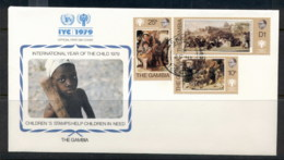 Gambia 1979 IYC International Year Of The Child FDC - Gambia (1965-...)