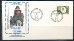 Greenland 1979 IYC International Year Of The Child FDC - Greenland