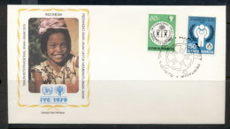 Indonesia 1979 IYC International Year Of The Child FDC - Indonesia