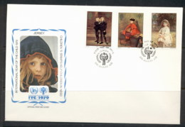 Jersey 1979 IYC International Year Of The Child FDC - Jersey