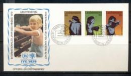 Liechtenstein 1979 IYC International Year Of The Child FDC - FDC