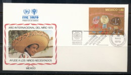 Mexico 1979 IYC International Year Of The Child FDC - México