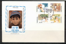 Portugal 1979 IYC International Year Of The Child FDC - FDC