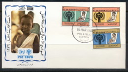S_udan 1979 IYC International Year Of The Child FDC - Sudan (1954-...)