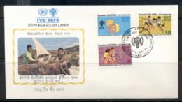 Sri Lanka 1979 IYC International Year Of The Child FDC - Sri Lanka (Ceylon) (1948-...)