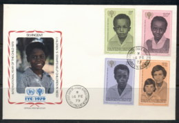 St Vincent 1979 IYC International Year Of The Child FDC - St.Vincent (1979-...)
