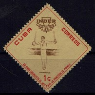 Kuba Cuba 1962 Sport - Turnen An Den Ringen - Gymnastics At The Rings - MiNr 773** - Gymnastik