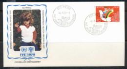 Switzerland 1979 IYC International Year Of The Child FDC - FDC