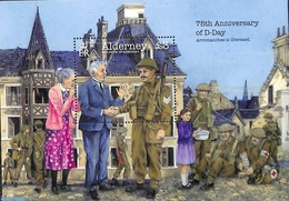 Alderney 2019 75 Years D-Day S/s, (Mint NH), World War II - Seconda Guerra Mondiale