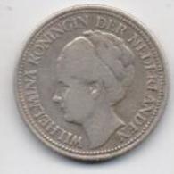 CURACAO SILVER COIN 1/4 GULDEN -1947-USED AS SCAN(Kbx) - Curacao