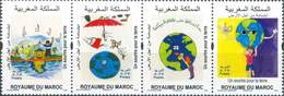MOROCCO  A LICHELN FOR THE EARTH OF CHILD ECOLOGY 2018 - Morocco (1956-...)
