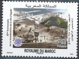 MOROCCO 50IEME ANNIVERSAIRE DE LA RECONSTRUCTION D' AGADIR 2010 - Morocco (1956-...)