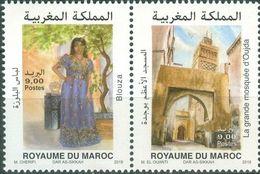 MOROCCO OUJDA CAPITAL OF ARAB CULTURE CAFFTAN MOSQUE 2018 - Morocco (1956-...)
