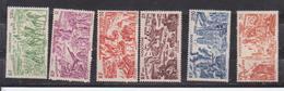INDOCHINE         N°  YVERT  :  PA 40/45   NEUF AVEC  CHARNIERES      (  CH  02/31 ) - Indochina (1889-1945)