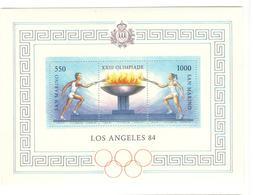 19409 - J.O. LOS ANGELES 84 - Blocs-feuillets