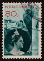 NTH SC #201 1933 Q Wilhelmina And Ships CV $2.90 - Used Stamps