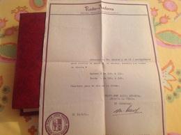 Radio Andorra 1950 - Vecchi Documenti