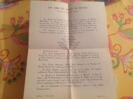 Les Amis Du Palais Du Roure 1941 Esperandieu Mistral - Oude Documenten