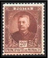 TIMBRE - MONACO - 1923-24 - NR 67 - Neuf - Monaco