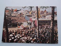 WIEZE OKTOBERFEESTEN De T.V.-Mis En Het Attraktiepark (Foto R. Van Doren / Edit. Wieze Okt.) Anno 1966 ( Voir Photo ) ! - Lebbeke