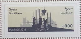 Syria 2019 NEW MNH Stamp - Fist Of May, Workers Day - Syria