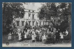 DIJON - Ecole Saint Dominique  - Jardin - Dijon