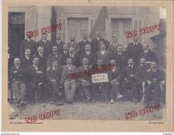 Au Plus Rapide Draguignan Var Les Conscrits De La Classe 1895 Militaria Beau Format Leroy Photographe - Guerre, Militaire