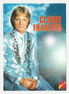 CLAUDE FRANCOIS Carte Postale N° ATHQ 343 - Entertainers
