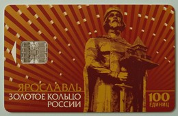 RUSSIA / USSR - Chip - Yaroslavl - Monument To Yaroslav Mudroma - 10 Units - Used - Russia