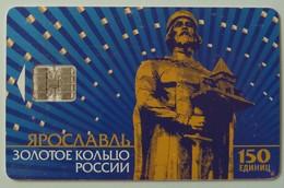RUSSIA / USSR - Chip - Yaroslavl - Monument To Yaroslav Mudroma - 150 Units - Used - Russia
