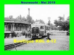 AL 564 - Autorail Billard A 150 D En Gare - LA VOULTE SUR RHÔNE - Ardèche - CFD Vivarais - Trains