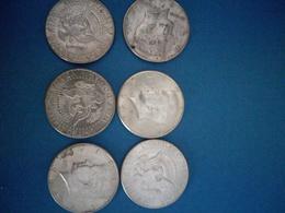 Lot De X6 Half Dollars Argent 1964 - Federal Issues