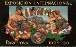 EXPOSICION INTERNACIONAL BARCELONA 1929 - 30 PUBLICIDAD  PUBLICITARIA. - Publicidad
