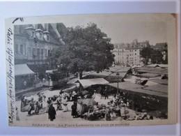 FRANCE - DOUBS - BESANCON - La Place Labourée Un Jour De Marché - 1903 - Besancon