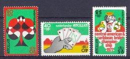 Mcm0541 SPORT KAMPIOENSCHAP BRIDGE CHAMPIONSHIP PLAYING CARDS NEDERLANDSE ANTILLEN 1977 PF/MNH VANAF1EURO - Francobolli