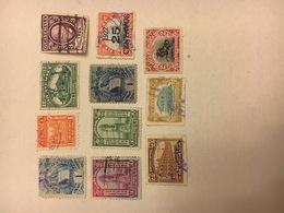LOT DE  11 TIMBRES OBLITERES GUATEMALA 1886 A 1932 - Guatemala