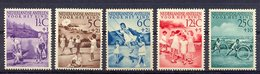 Mcm0234 KINDERZEGELS SCHOMMEL VLIEGER KITE STAMPS FOR THE CHILDREN JUGENDWOHLFAHRT NEDERLANDSE ANTILLEN 1951 PF/MNH # - Kindertijd & Jeugd