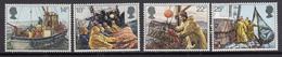 Great Britain MNH Michel Nr 891/94 From 1981 / Catw 3.00 EUR - Ongebruikt