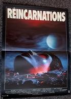 Aff Ciné Orig REINCARNATIONS (81) 40x60cm Gary Sherman J Farentino, Melody Anderson Illus Landi - Posters