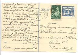 1938 Kinderzegel Mengfrankering N.V.P.H. 315 Groningen - 1891-1948 (Wilhelmine)