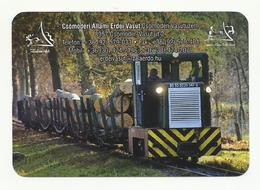 Hungary, State Forest Railway, Wood Industry,  2019. - Small : 2001-...