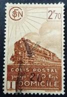 France 1941 Colis Postaux Train Domicile Yvert 183 O Used - Usados