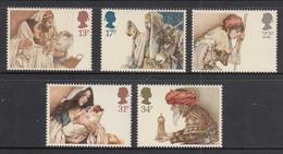 Great Britain MNH Michel Nr 1012/16 From 1984 / Catw 4.00 EUR - Ongebruikt
