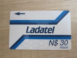 Ladatel GPT Phonecard,19MEXB,N$30Pesos,used - Mexico
