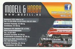 Hungary, Three Engine, Modell & Hobby Ad, 2016. - Small : 2001-...