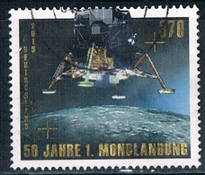 2019  50 Jahre Mondlandung - Used Stamps