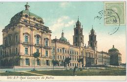Portugal - Real Convento De Mafra        [ALT  0167] - 1910 : D.Manuel II